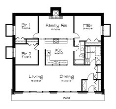 The Rockspring Hill Berm Home has 3 bedrooms and 1 full bath. See amenities for … The Rockspring Hill Berm Pole Barn House Plans, Beach House Plans, Pole Barn Homes, Dream House Plans, House Floor Plans, Underground House Plans, Underground Homes, Underground Living, House Plans And More