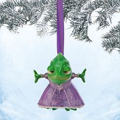 Pascal Sketchbook Ornament - Tangled