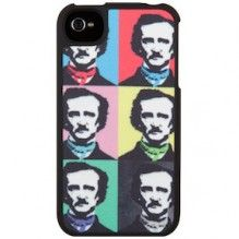 We wonder if Edgar Allen Poe would actually agree with his face as a pop icon on an iPhone case...
