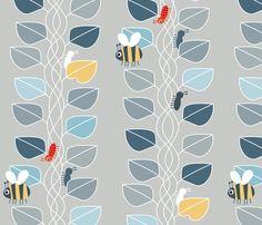 Jack's Beanstalk fabric by spellstone on Spoonflower - custom fabric