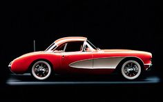 1957 Chevrolet Corvette Coupe.