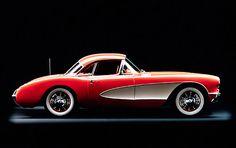 1957 Chevrolet Corvette Coupe.