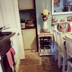 my kitchen love my home Entryway Tables, Sweet Home, Kitchen, Furniture, Home Decor, Cooking, Decoration Home, House Beautiful, Room Decor