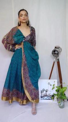 DIY Lehenga from a saree