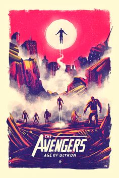 Age of Ultron Poster - - Marie Bergeron