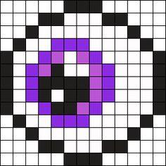 Eye2 Perler Bead Pattern / Bead Sprite