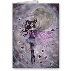 Purple Passion Gothic Fairy Fantasy Art Print by Molly Harrison Fairies Fae Moon Star Illustration, Illustrations, Fantasy Kunst, Fantasy Art, Fairy Dust, Fairy Tales, Magic Fairy, Fairy Land, Dragons