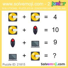 Solvemoji - Free teaching resources - Emoji math puzzle, great as a primary math starter, or to give your brain an emoji game workout. Emoji Games, Math Games, Maths Starters, Primary Maths, Free Teaching Resources, Maths Puzzles, Number Sense, Brain Teasers, Halloween Themes