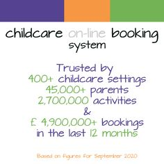 Despite the global pandemic, we've processed nearly £ 5,000,000 bookings on behalf of #childcare settings offering #wraparound childcare, in the last 12 months and helped over 50 childcare settings provide a booking platform - free of charge - during the #coronaviruslockdown for #keyworkers After School Club, Cob, Wraparound, Childcare, 12 Months, Software, Platform, Activities, Free