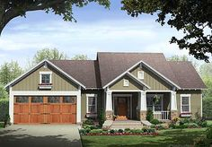 Eliminate 2 bedrooms on this floor plan and put them in basement.