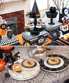 """bewitching"" halloween cupcakes and treats"