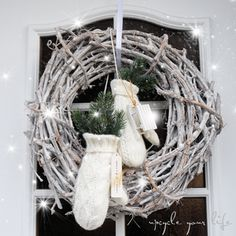 weihnachtlicher türkranz...