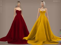 Dream Dress at Heavendy-cc • Sims 4 Updates