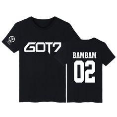 Kpop Korean Pop GOT7 Got 7 BTS Bangtan boys bam bam 02 tee t-shirt shirt 001