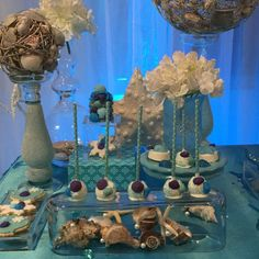 Winter and Under The Sea Quinceañera Party Ideas   Photo 8 of 19