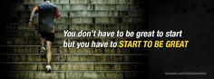 Start to be great!