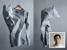 The T-Shirt-Issue è un collettivo interdisciplinare composto da Mashallah Design e Linda Kostowski che coniuga moda design e tecnologia. Le figure geometriche, e più precisamente i poligoni, sono l…