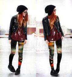 Getting Hipster Leggings: Legging Abstrac ~ frauenfrisur.com Hipster Clothing Inspiration