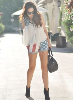 shorts and shirt - Womens Fashion Clothing at Sheinside.com