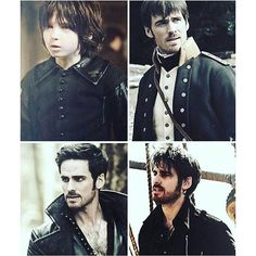 Colin O'Donoghue -Killian Jones - Captain Hook - on Once Upon A Time