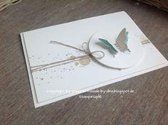 Schönes aus Papier handgemacht!: Schmetterlinge clean and simple