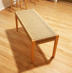 A bench is a great entry-level piece of furniture to build. It's useful and not as difficult to make as a chair. You can easily build a plank-seat bench, like one of the wonderful designs Joel showed us in Tools & Craft; you could upholster it if you've got access