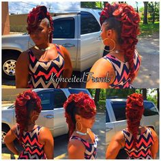Crimped hair is gorgeous, but only when you do it the right way. What do you need to know in order to get the best crimped look? Quick Weave Hairstyles, Mohawk Hairstyles, My Hairstyle, Black Girls Hairstyles, 27 Piece Hairstyles, Hair Updo, Latest Hairstyles, Celebrity Hairstyles, Ponytail Styles