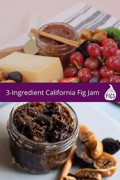 A simple jam recipe made with only California Dried Figs and two additional ingredients. #figjam #easyjam #jammaking #driedfigrecipe How To Make Jam, Food To Make, How To Look Better, Fig Recipes, Healthy Recipes, What's Cooking, Cooking Recipes, Easy Jam Recipe, Fig Jam
