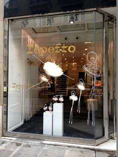 Paris, Repetto ~ Typically French ballet slippers and tutus colors and sizes.