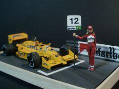 Lotus 99T Monaco G.P. 1987 A.Senna 1/43