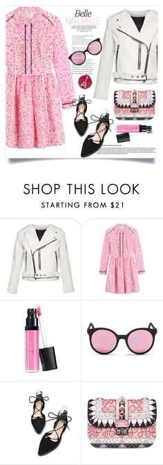 """""""Something Pink"""" by judysingley-polyvore ❤ liked on Polyvore featuring Marc Jacobs, Fendi, Laura Geller, Spektre, Valentino and Betsey Johnson"""