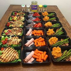 Yup its decided   doing a version this meal...   Yup its decided   doing a version this meal prep tomorrow! Whos with us??? - We can thank @krysmarie81 for this nommy meal prepping visual  -  Remember to sign up for our newsletter on mealprepster.com  were waiting for the 100th subscriber to raffle away a set of meal prep containers!  - #mealprepster http://ift.tt/1QbImVu  mealprep mealprepster mealplan foodprep foodprepping mealprepping foodporn mealporn fitnessp