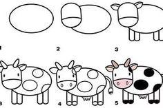 kolay hayvan çizimleri — Yandex.Görsel – kus nasѭl çizilir, kuzu nasѭl çizilir, kuzu çizimi, koyun çizimi, at çizimi, ...