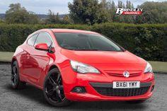 Make : Vauxhall Model: Astra GTC SRi Miles: 32,687 Price: £12,500