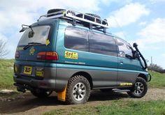 My Delica Campervan/Overlander - Saxperience - Citroen Saxo Forum Delica Van, Cargo Van Conversion, Diy Camper Trailer, Suzuki Cars, 4x4 Van, Suzuki Jimny, Van Camping, Remodeled Campers, Campervan