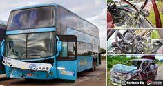 Acidente envolvendo ônibus da Progresso deixa 3 vítimas em Sertânia | S1 Notícias - A notícia passa primeiro aqui!