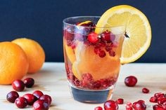 This super easy to make cranberry, orange and pomegranate sangria is the perfect special drink for your holiday plans! Or any time of year really!