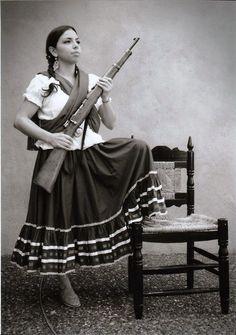 z- La Adelita- Lady of Mexican Revolution (Leader of Women)