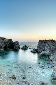 Baie de Quiberon dans le Morbihan en Bretagne. Ne loupez pas ces paysages superbes de #Bretagne car ils sauront vous surprendre. #vacances #france