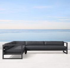 Aegean Aluminum Customizable Sectional
