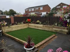 Artificial Grass Installation, Raised Beds, Landscaping, Sidewalk, Patio, Building, Outdoor Decor, Home Decor, Decoration Home