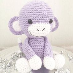 // Reklame // Jeg er så utrolig heldig og har fått tillatelse fra forfatteren til den beste hekl... Cute Crochet, Crochet For Kids, Dere, Amigurumi Toys, Crochet Animals, Diy And Crafts, Hello Kitty, Projects To Try, Anton