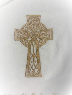 Hand-Painted Christian Cross Design Adult Baptism Towel with Hand-Painted wording on a white towel.  The design is permanent and heat-sealed when completed.  This towel is extra special because the customer who used this was baptized in the River Jordan. Baptism Gifts, White Towels, Cross Designs, New Product, Layout Design, Hoods, Hand Painted, Christian, River