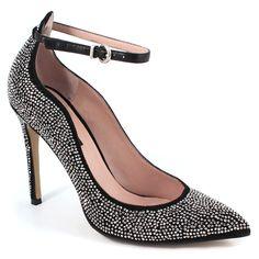 Scarpe moda donna: Decolleté tacco alto B15-30 Nero