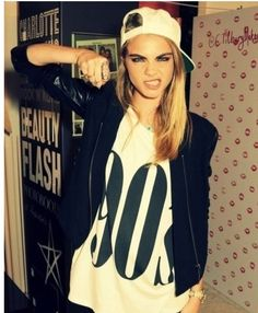 cara delevingne. OTHER girl crush...