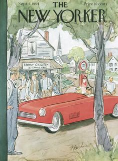 The New Yorker - Saturday, September 4, 1954 - Issue # 1542 - Vol. 30 - N° 29 - Cover by : Perry Barlow