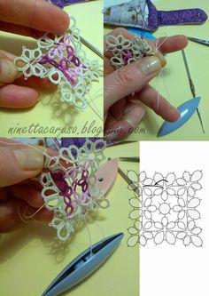 Handmade tatting lace blog with my patterns, tutorials and links to useful resources. It's all about my passion and my joy. Pizzo chiacchierino.