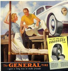 General Tires Squeegee tire for traction control.