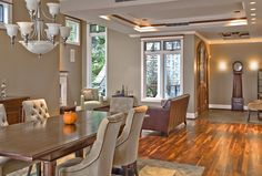 | TCA Architecture & Planning | Seattle, Mercer Island, Custom Woodwork, Ceiling details, Lake Washington