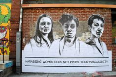 And when street artist Tatyana Fazlalizadeh used her portraits to speak out about street harassment. | 22 Powerful Moments That Made You Proud To Be A Feminist In 2014